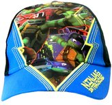 Nickelodeon TMNT Boys Kid's Teenage Mutant Ninja Turtles Character Summer Sun Hats Baseball Caps with velcro fastening Ages 3-6 & 7-10