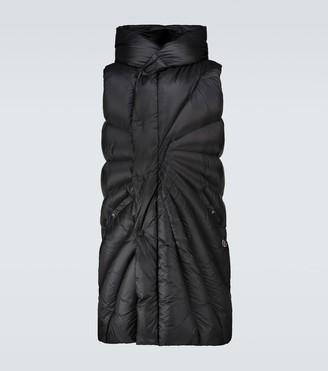 Rick Owens Moncler + Porterville sleeveless jacket