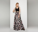 Fame & Partners Rose Floral Two Piece