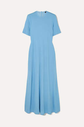 Joseph Leila Jersey Midi Dress - Blue