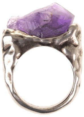 DSQUARED2 Woman Ring With Amethyst