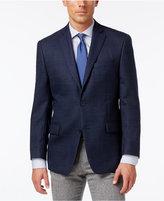 MICHAEL Michael Kors Men's Classic-Fit Blue Neat-Patterned Sport Coat