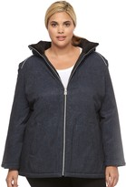 ZeroXposur Plus Size Imani Stretch Hooded Jacket