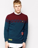 Lyle & Scott By Universal Works Jumper With Snowflake