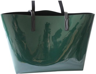 Marni Green Patent leather Handbags