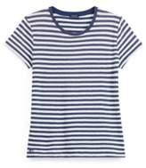 Ralph Lauren Striped Cotton Jersey T-Shirt Navy/Cream Xs