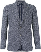 Tagliatore classic woven blazer - men - Cotton/Linen/Flax/Polyamide/Cupro - 46