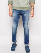 Blend of America Jeans Cirrus Skinny Fit Light Wash