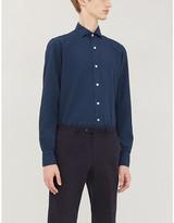 ELEVENTY Slim-fit cotton shirt