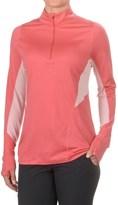 Ibex Indie Shirt - Merino Wool, Zip Neck, Long Sleeve (For Women)