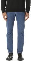 Patrik Ervell Classic Medium Stonewash Denim Jeans