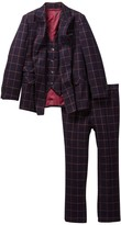 Isaac Mizrahi Three Piece Double-Breasted Suit (Toddler, Little Boys, & Big Boys)