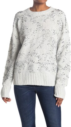 French Connection Rosemary Sequin Pullover Sweater