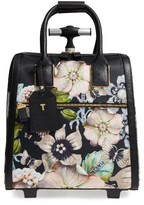 Ted Baker Inez Gem Gardens Two-Wheel Travel Bag - Black