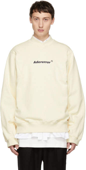 Off-White Ader Error ADER error A-Neck Sweatshirt