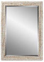 "C&C Reflections Weathered Mirror - White 28""W x 34""H"