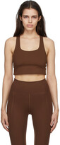 Thumbnail for your product : Girlfriend Collective Brown Paloma Sports Bra
