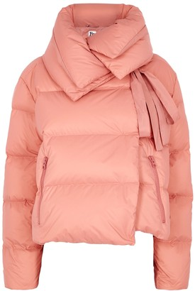 Bacon Puffa Ruff Superwalt Pink Quilted Shell Jacket