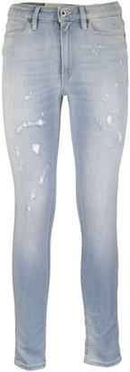 Dondup Jeans Super Skinny Trousers Iris Light Blue