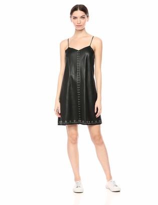 Blank NYC Women's Vegan Leather Dress Dress