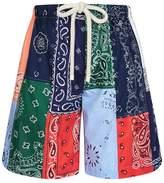 Loewe Bandana Print Shorts