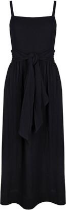 CLOE CASSANDRO Pinafore Cotton Waffle-Knit Dress