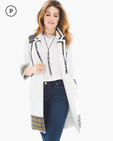 Chico's Tribal Embroidered Jacket