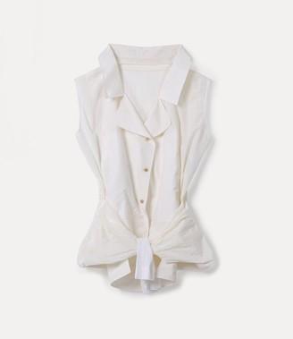 Vivienne Westwood Sottosopra Shirt Natural White