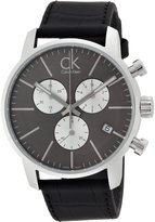 Calvin Klein K2G271CX 43mm Stainless Steel Case Crocodile Mineral Men's Watch