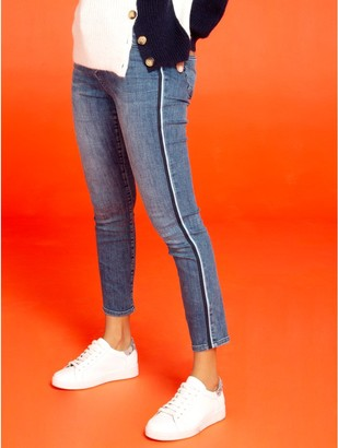 M&Co Khost Clothing side stripe skinny jeans