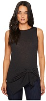 Michael Stars Brooklyn Jersey Boat Neck Tank with Pleat Women's Clothing