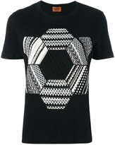 Missoni knitted patch T-shirt
