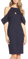 Adelyn Rae Women's Cold Shoulder Sheath Dress