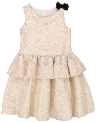 Charabia Tiered A-Line Dress (3-14 Years)