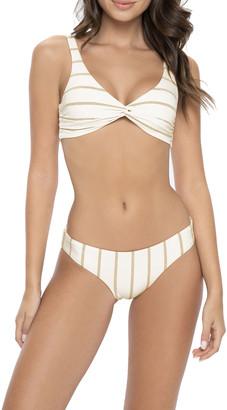 PQ Swim Basic Ruched Full Bikini Bottom