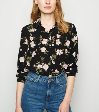 New Look Floral Long Sleeve Shirt