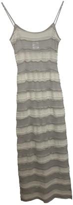 Chanel White Cotton Dresses