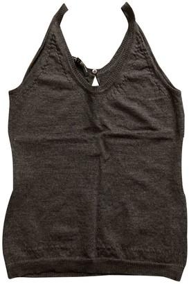 Alessandro Dell'Acqua Grey Wool Top for Women