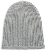 Lord & Taylor Knit Cashmere Slouchy Hat