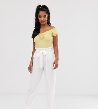 Y.A.S Cassandra bucket waist trousers