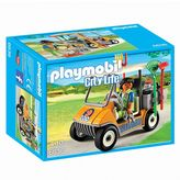 Playmobil Zookeeper's Cart Playset - 6636