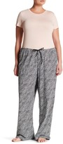 Hue Lyon Leopard Pajama Pants (Plus Size)
