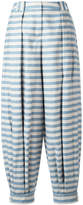 Jil Sander Navy striped tapered pants
