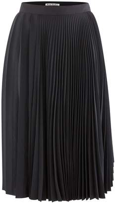 Acne Studios Ilky pleated skirt