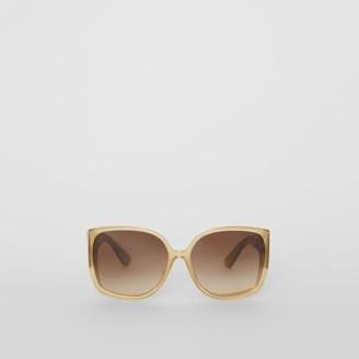 Burberry Oversized Butterfly Frame Sunglasses