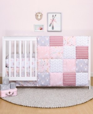The Peanut Shell Ps by The Meadow 3-Piece Crib Bedding Set Bedding