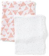 Petit Lem Baby Shapes Printed 2-Piece Blanket Set