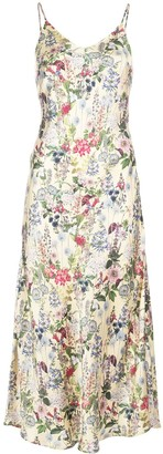 Madison.Maison Lauren floral-print silk dress