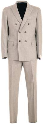 Eleventy Suit Double Breasted Pants Chino