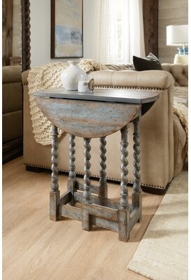 Hooker Furniture La Grange Solid Wood Abstract End Table
